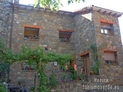 TURISMO VERDE HUESCA. Casa Moreno de Hospital de Tella